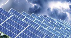 Solarpanels - Sturm