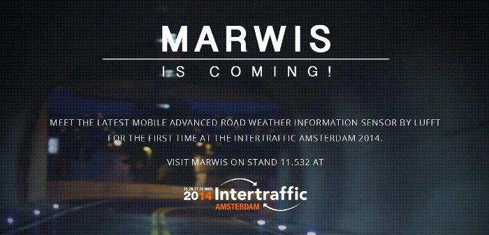 MARWIS-Premiere auf der Intertraffic