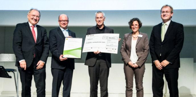 Preisverleihung Innovationspreis BW 2015