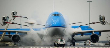 MARWIS used at Schiphol Airport, Amsterdam, Netherlands, to improve airplane de-icing