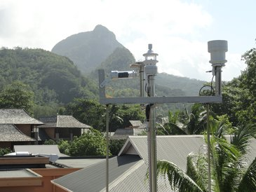 Energy-saving in the holiday paradise: The Constance Hotels and Resorts rely on Luffts automatic weather stations WS504