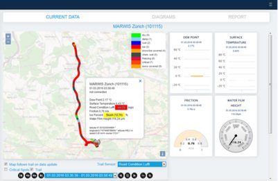 ViewMondo - Road & Runway Management Software - weather data - ice detection - salt spreading recommendation