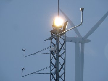 Wind energy in Norway - Icing of wind sensors? Not with the ultrasonic wind sensor VENTUS!