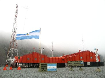 Orcada Research Station in Antarctica equipped with WS200 wind sensors by American Traffic in 2011