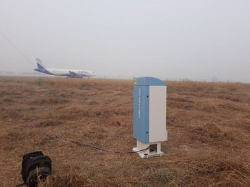 Lufft CHM 15k Ceilometer at Delhi Airport - Indian Institute of Tropical Meteorology
