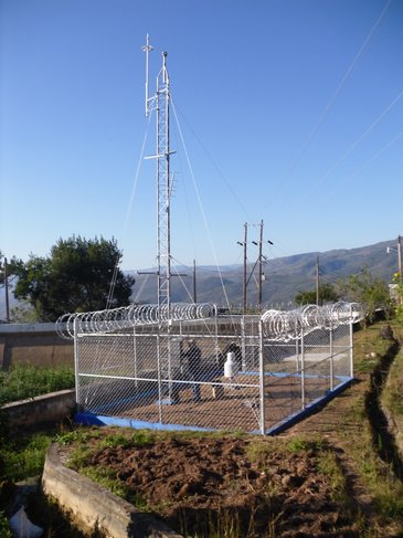 Weather Monitoring network equipped with Lufft wind sensor VENTUS